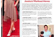 Health & Fitness - Jessica Simpson Workout