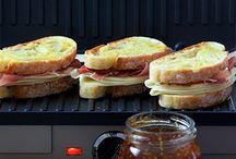 Panini grill.