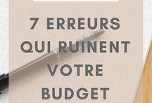 budget et economiser