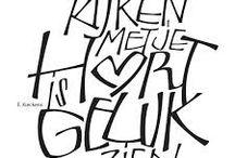 Doodles en Lettering