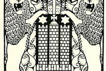 Wiener Werkstätte : Carl Otto Czeschka (1878-1960) - Decorative art and illustration
