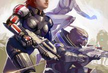 Mass Effect / Some Mass Effect stuff that I like.