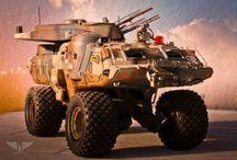 Vehicles - AFV proto & Concept