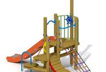 Juegos infantiles / Kid games / Adapte los parques de su ciudad con nuestros estupendos parques infantiles o piezas individuales para entretener a los niños.