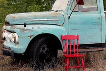 Motif: Old Trucks / by Karen Lawrence