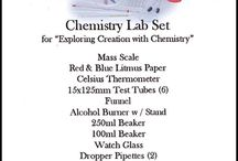 Apologia ChemistryGrade 10 / by Isabelle Lussier