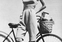 Sportswear & Separates / During World War II, America was cut off from Paris fashions and this allowed American designers to innovate and gain recognition. One of their greatest contributions was the widespread use of separates - pants, skirts, blouses, sweaters and jackets - that could be mixed to create a larger wardrobe.