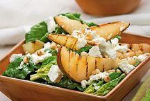 салат из жареных груш