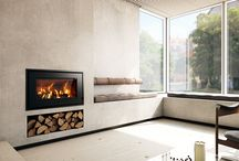 RAIS 700 / The new classics are designed for the super-minimalist architectdesigned home, or for classic decor. The clean lines are complemented by the special handles you would hardly notice. Space for large logs and provides an impressive view of the flames. Superb combustion. Doors in classical steel and glass, or pure glass doors in white or black.
