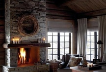 Stone Fireplaces / Remodel or build from scratch, stone fireplaces are contemporary and traditional at once with so many options!
