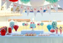 Boy Birthdays! / Perfect ideas for a sweet baby boy who's turning two! / by Christina Didier
