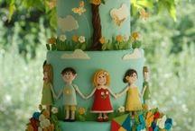 bolo crianças
