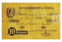 British India- Portrait Note of Queen Victoria / Story behind the Portrait Note of Queen Victoria