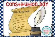 Constitution Day / Activities designed to help you students gain a better understanding of this important document. Did you know most schools are responsible for planning activities for this day?