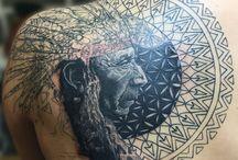 Indián tattoo