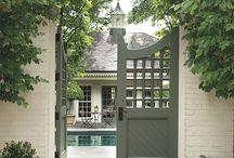 Brownhill's gates