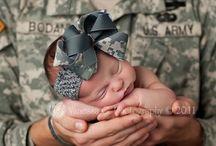 military life / by Rebecca Moffitt
