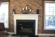 fireplace / by Jennifer Schrader