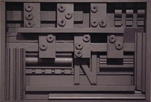 Louise Nevelson / Works by or inspired by Louise Nevelson. / by Joseph Stucker