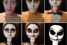 Halloween schminken / Schmink Ideen für #Halloween mit und ohne #sfx #prosthetics