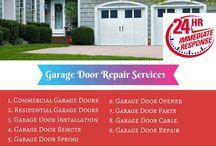 Garage Door Repair Infographics