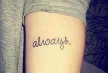 My tattoos<3