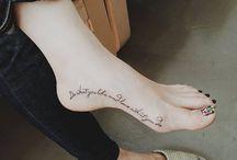 TATUAJES PIE / tatuajes
