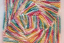 strikke kluter/brikker