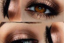 Eye Makeup / Most of these looks are for either dark or light brown eyes.