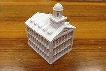 3D Printing Architecture / Modellini di architettura in stampa 3d con diversi materiali. Precisione millimetrica. Utilizzo stampante 3D1 di SMD 3D