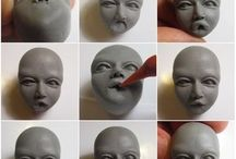 Polymer clay sculpture