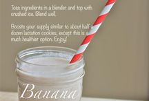 Lactation smoothies