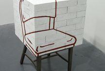 kunst en stoelen / art and chairs
