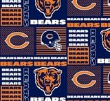 NFL Football Team Fabrics / Licensed Fabrics for your next sports themed project!