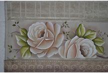 pinturas toalhas