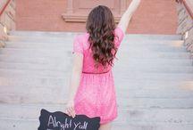 senior girl photos
