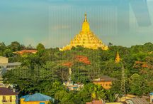 My Visit to Yangon City in Myanmar (Burma). / In the middle of May (2018), I ventured out to Yangon-Myanmar, to visit some longtime friends. I stayed for about 10 days and had a lot of fun although it was hot. Tried my best to take some photos during my stay here. I visited the Shwedagon Pagoda, walked the cobblestones of Bogyoke Market and enjoyed a cool beer at the Junior Duck restaurant close to the Nan Thida Ferry Terminal.