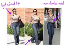Pear shaped clothing tips