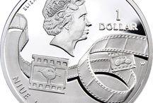 Кинематограф и фотография на монетах