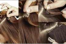 How to fit Clip in hair Extensions and more! / This is intended to be a guide of how to's related to Clip in Hair extensions, hair pieces and wigs!