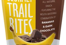 Gourmet Nut Trail Bites / So what is a Trail Bite you may ask? Think trail mix and granola/power bar combined to make the ultimate, bite-sized treat! Small enough to pop into your mouth, yet satisfying enough to feed your snack craving, our all natural Trail Bites are a great new way to snack!