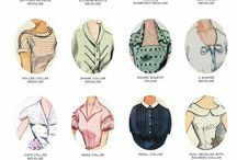 types of necklines  & collars