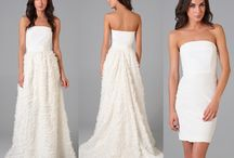 Wedding Dress with Detachable Skirt / Gorgeous Range of Wedding Dresses with Removable Skirts.