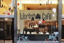 "Workshop Café Belgium / Opened just a year ago, Workshop Café Belgium is gonna lead the trend of ""no-office-required-to-do -your-job""! It's no brainer nowawdays that professionals look for a different way to do business: Co-working spaces, cafe with free wi-fi access and so on are building up this new trend of sharing economy that leads you think outside of the box. http://www.urbanhypsteria.com/workshop-cafe-belgium/"