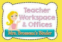 Teacher Workspaces & Offices / Dream office and workspaces for teachers!