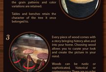Trends in Recycled Wood Furniture / Recycled and reclaimed wood is on trend! Learn why it's chic and in high demand. See the infographic and CeTerra's creative recycled wood furniture and get inspired!