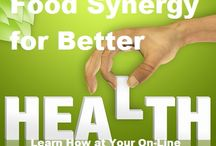 Food Synergy / Food Synergy Means Better Health -  It's not a new idea - Just two words to explain what food has always done when two or more foods are eaten in combination for a healthier body - #foodsynergy #foodguide #betterhealth #healthnews #eatinghealthy #nofadediets #vegan #vegetarian #healthyfoodguide / by Delectable Foods