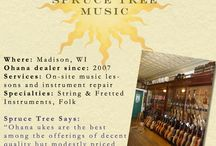 """Dealer Spotlight / In an attempt to appreciate its loyal, top-notch dealers, Ohana Ukuleles has put various music shops in its """"Dealer Spotlight."""" Find all of the featured dealers archived here."""
