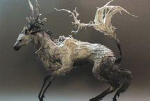 rzeźba zwierzęta ceramika art