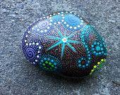 Dot art - painted rocks